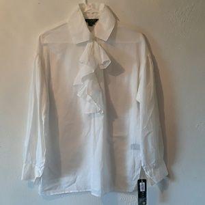 Ralph Lauren white blouse